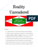 Reality Unrendered