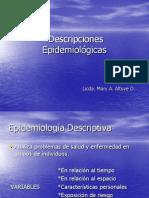Unidad VI Descriptores Epidemiologicos
