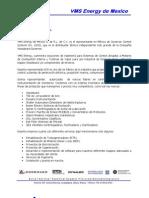 Carta de Presentacion VMS Energy de Mexico