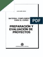 Folleto Preparacion y Evaluacion de Proyectos UNED
