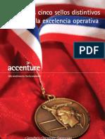 Accenture Los Cinco Sellos Distintivos de La Excel en CIA Operativa