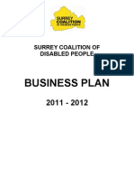 Surrey Coalition Business Plan 2011-12