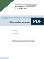 Le rapport 2011 de l'OIT