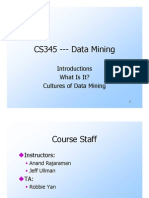 Introduction Data Mining