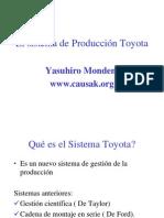 Adm. Produccion - Toyota