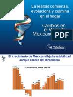 ACNIELSEN Cambios Mercado Mexicano
