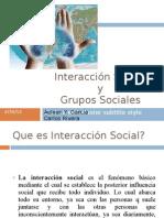 Integración y grupos sociales