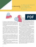 La EducaciÓn Infantil y Su ConexiÓn Con La EducaciÓn Primaria
