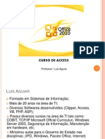 Curso de Microsoft Access 2007 - Luis Aguiar