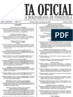 INDEPABIS - Gacetas Oficiales - 2011-05-02 (Gaceta Oficial N° 39664)