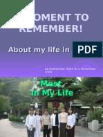 My Memories of Japan