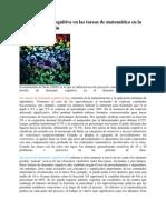 les de demanda cognitiva en las tareas de matemática en la taxonomía de Stein