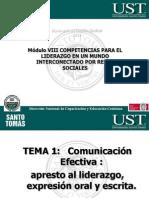 Modulo VIII COMPET.LIDERAZGO Comunicación l