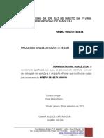 PETIÇÃO ATUAL GUIA DE COMPLEMENTAÇÃO DE CUSTAS