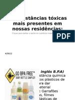 10 substâncias tóxicas mais presentes em nossas residências