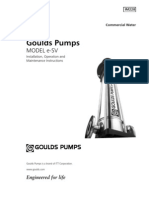 Gould Pump Manual (Spray Test Stand)