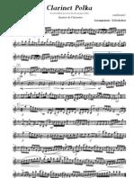 Finale 2005b - [Ein Prosit_c_Clarinet Polka - 001 Clarinette Sib 1