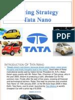 Tata Nano Pricing Iimi Secd Grp11