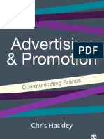 Advertising & Promotion. Communicating Brands (2005) (Chris Hackley)