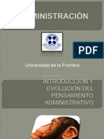 Fundamento de la Administración