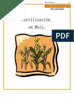 fertilizacion maiz