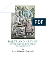 Balts and Aryans in Their Indo-European Background