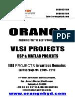 VLSI Final Year Projects Orangehyd