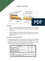 ESCALONADO CONSTRUCCION