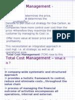 L-32 Total Cost Management -Copy