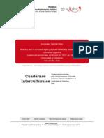 2009 Articulo Cuadernos Interculturales Etnografos