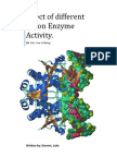 How is Enzyme Activity Affected by Different pH