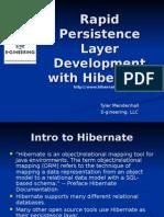 Hibernate Final 072004