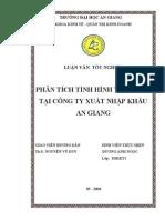 Phan Tich Tinh Hinh Tai Chinh Tai Cong Ty XNK