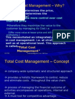 L31 Total Cost Management