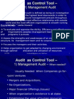 L32 Audit as Control Tool
