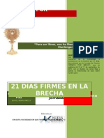 Manual de Intercesion 21 Dias Firmes en La Brecha