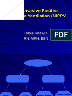 Non Invasive Positive Pressure Ventilation (NIPPV)