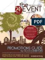 2012 SCAA Event Exhibitor Promotions Guide