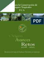 Fondo para la conservación de bosques tropicales.  Guatemala
