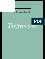 Hurka. T. Perfectionism