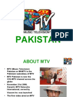 Presentation on MTV PAK