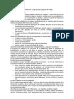 ACTIVIDADES TEMA 5 La planificación  y el programa