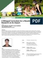 Public Lecture Claudia Ordonez 1 Dec 2011