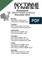 November Group Fitness Large