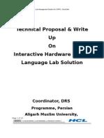 Proposal of Hardware Language Lab