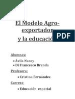 El Modelo Agro