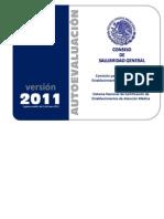 Autoevaluacion_hospitales Consejo Salubridad General