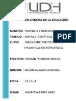 MAPAS DE TEMAS CENTRALES Y RESUMEN PENSAMIENTO ESTRATÉGICO
