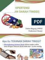 Penyuluhan Hipertensi - PKM Cileunyi 2011
