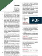 Prova - Auxiliar de promotoria - Ministério Público SP